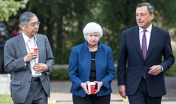 Heads of world central banks