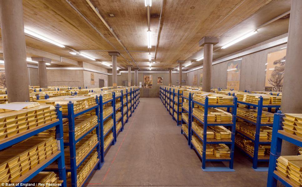 Хранилище золота Лондонской Ассоциации рынка слитков