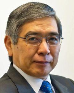 Харухико Курода (Haruhiko Kuroda) Банк Японии