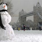 Снеговичок в Лондоне