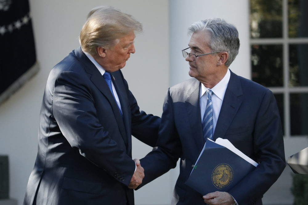 Donald Trump,Jerome Powell